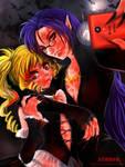 Vampire Selfie by Blackbird2