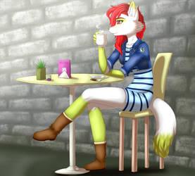 Tea Time by LuckyLucario