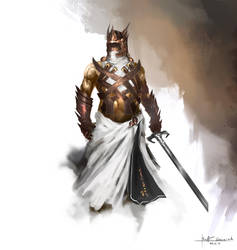 knight concept by RaV89