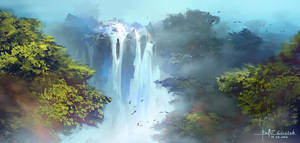 Waterfall by RaV89