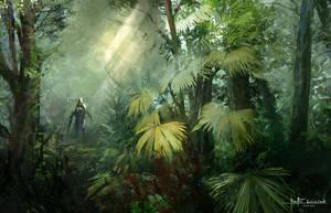 Jungle approach 2 by RaV89