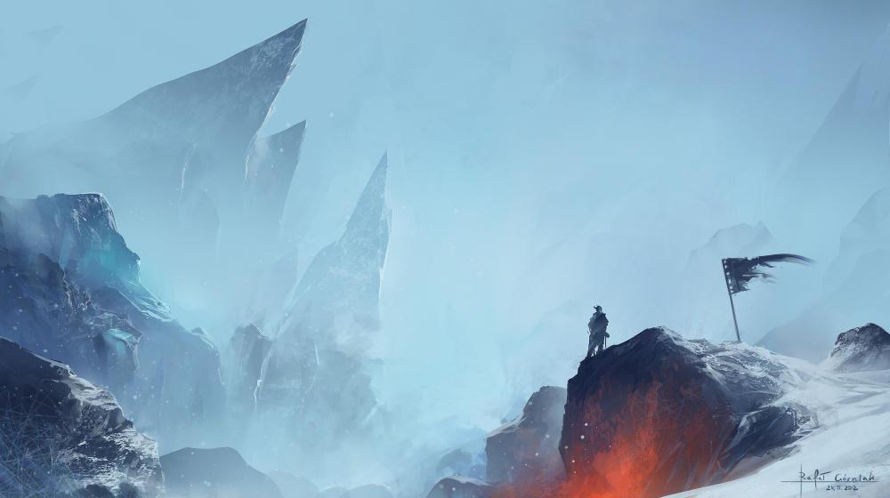 foggy hills by RaV89