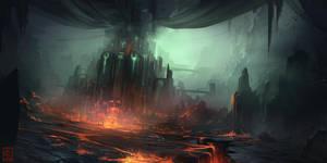 Undead castle by RaV89