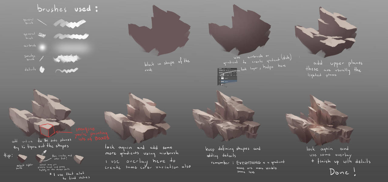 Rocks tutorial v2 by RaV89