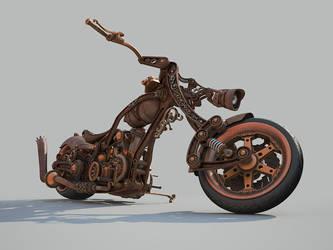Chopper Steampunk style WIP 8 by Aci-RoY