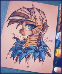 Zecora (Art auction) by D-Dyee