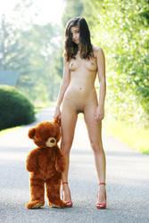 Lucky Teddy Bear (3) by nika-art-nikola