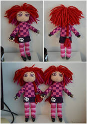 Giana Sisters: Twisted Dreams punk Giana dolls by Ravenlordess
