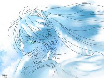 Blue Monochrome by KairinTouzen