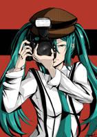 Phantom Thief F: Journalist Miku by KairinTouzen