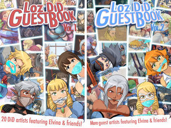 LoZ DiD Guestbook Vol. 1-2 by PawFeather