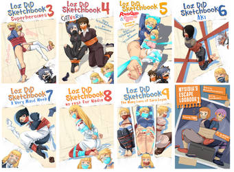 LoZ Sketchbooks 3-9_Mysidias LogBook by PawFeather