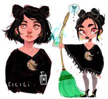 Cicila The Cicada Witch by temporaryWizard