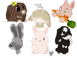 Bunny character page by temporaryWizard