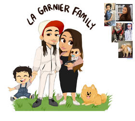 garnier family chibi portrait by temporaryWizard