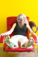 Dobbie tickles Luna Lovegood by the70sguy