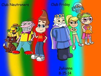 Club Neutroners and Club Friday by Carebeargirl99