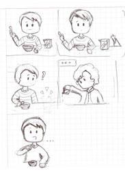 The milk of Sherlock by Ojohopo