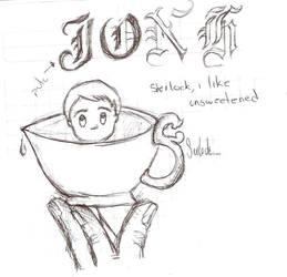 John Watson tea by Ojohopo