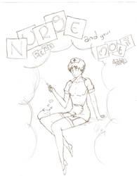 Arthur Kirkland nurse by Ojohopo