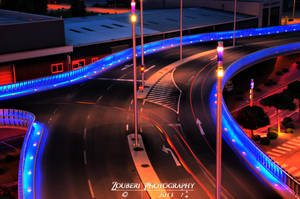 Blue street HDR by Zouberi