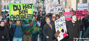 Anti-ACTA I 5 by Zouberi