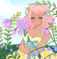 YCH    Spring Flora by Mutealice