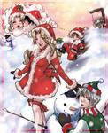Past to Present Christmas by nefgoddess