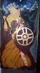 Valkyrie-Women of power Mural by nefgoddess