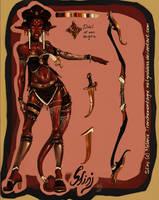 sfinj-huntress finished by nefgoddess