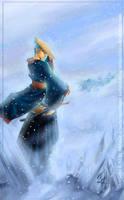 Toji God of Ice by nefgoddess
