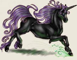 Unicorn by neecolette