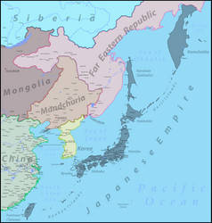 Japanese Empire and South East Asia by Vladesu
