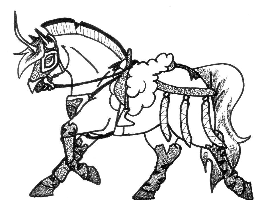 Horse Team Harness