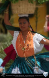 Dancer in Oaxaca by aladecuervo