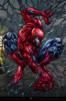 Amazing Spiderman color_ver by aladecuervo