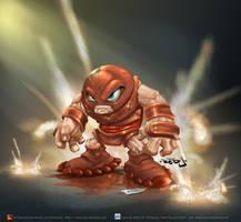 Juggernaut by aladecuervo