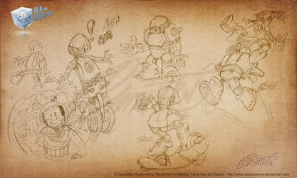 Robo-designs by aladecuervo