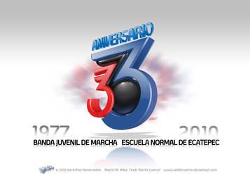 Logo BJM ENE33 by aladecuervo