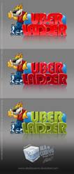 Unused logo for uberladder by aladecuervo