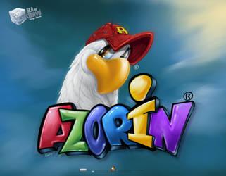 AZORIN logo rmk by aladecuervo