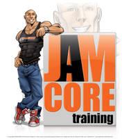 JAMCORE training logo by aladecuervo