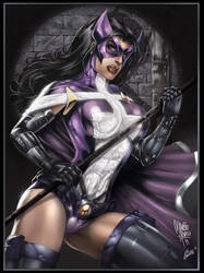 Huntress colors by aladecuervo