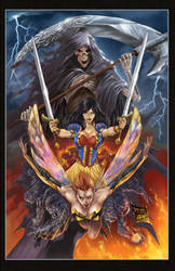 Grimm Fairy Tales vol 9 colors by aladecuervo