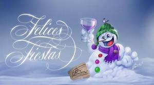 Felices fiestas de invierno by aladecuervo