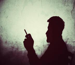 shadow guy by adambkubik
