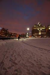 Night After Snow Storm by DmanLT21