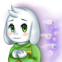 Asriel -My first graphics tablet drawing- by Jany-chan17
