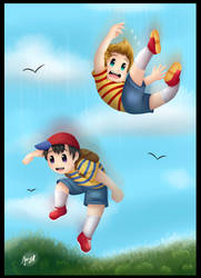 Ness And Lucas by Jany-chan17