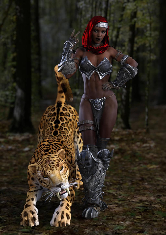 4.058 - lady  feline 2 HR 2 C by beedoll